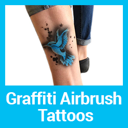 Graffiti Airbrush Tattoo Parties