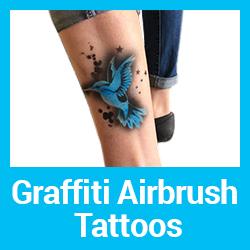 Graffiti Airbrush Tattoo Parties
