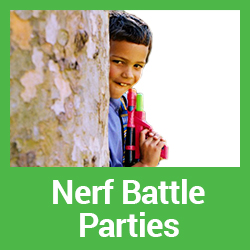 Nerf Battle Parties Central Coast