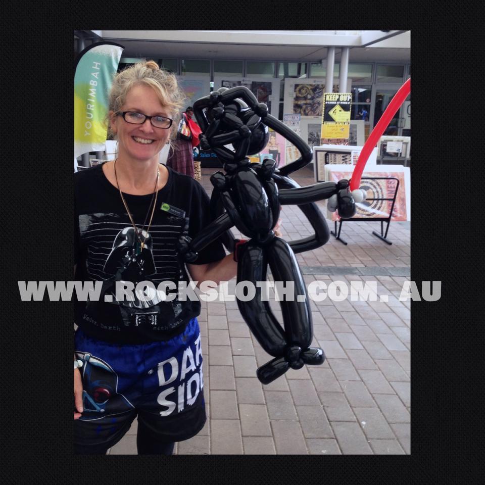 Darth Vader balloon May 2015