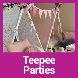 Teepee Parties Central Coast